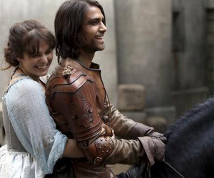 musketeers, d'artagnan, and love image