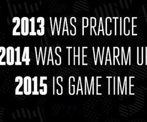 new year, 2015, and game time image