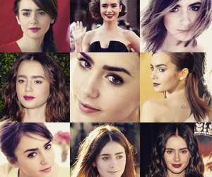 lily collins and 2014 image