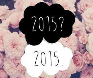 2015, new year, and flowers image