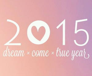 Dream and 2015 image