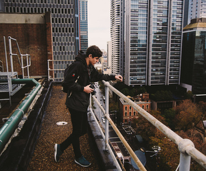 boy, city, and hipster image