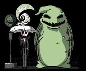 jack, totoro, and Halloween image