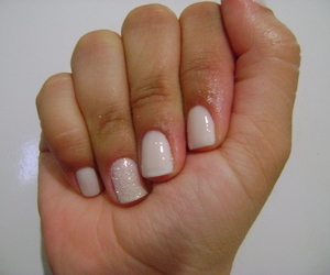 glitter, nails, and unhas image