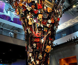 guitar, music, and amazing image