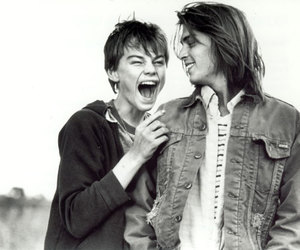 johnny depp, leonardo dicaprio, and Gilbert Grape image