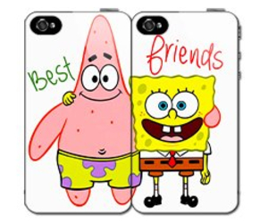 spongebob, patrick, and friends image