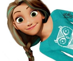 rapunzel and disney image