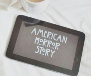 cup of tea, american horror story, and tabet image