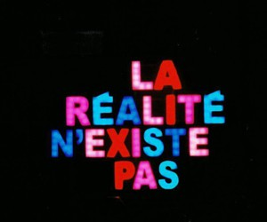 quote, french, and reality image