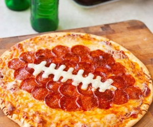 pizza, food, and football image