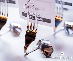 forks, silver, and stationery image