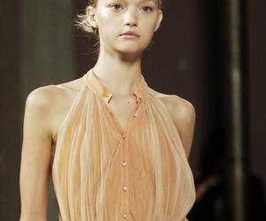 catwalk, Gemma Ward, and dress image