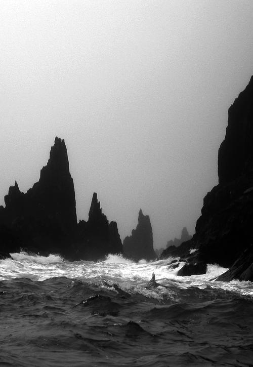 nature, ocean, and landscape image
