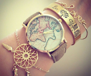 bracelet, accessories, and watch image