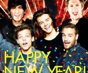 one direction, happy new year, and liam payne image