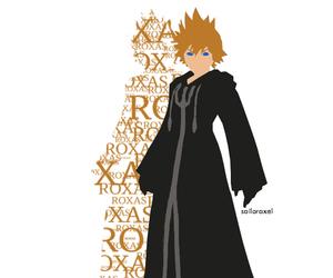 anime, kingdom hearts, and roxas image