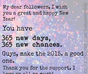 2015, followers, and new year image
