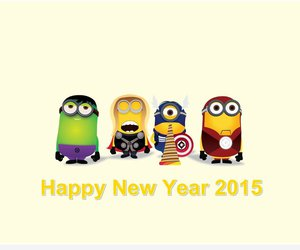 funny, minions, and superheroes image