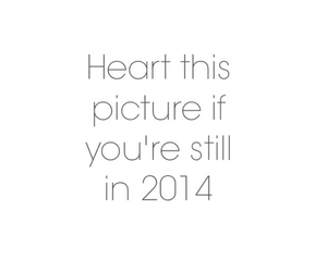 2014, 2015, and heart image