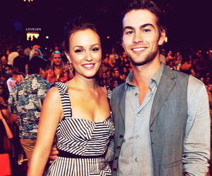 leighton meester, Chace Crawford, and gossip girl image
