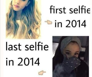 selfie and ariana grande image