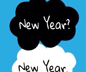 clouds, december, and new year image