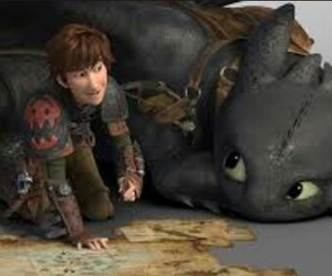 toothless, hiccup, and httyd image