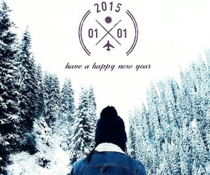 1, happy, and happy new year image