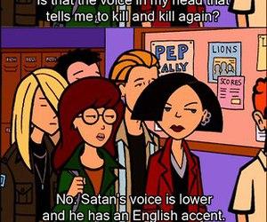 Daria and satan image