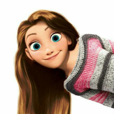 rapunzel and maglione a righe image