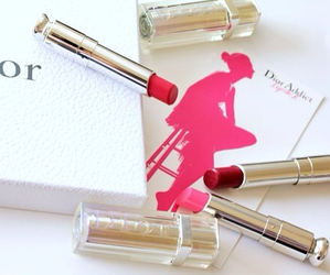 lipstick, dior, and red image