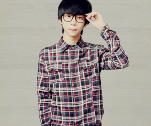 asian, cute, and glasses image