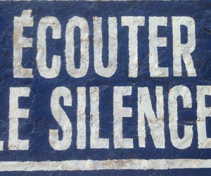 listen and silence image