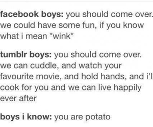 tumblr, boy, and facebook image