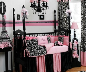 baby, baby room, and eiffel tower image