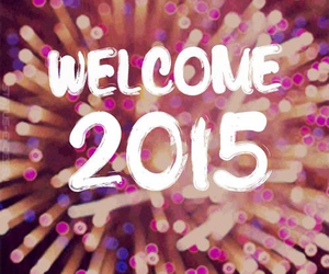 2015, new year, and fireworks image