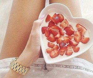 strawberry and beautiful image