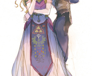 zelda, sheik, and the legend of zelda image