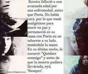 katniss, peeta, and siempre image