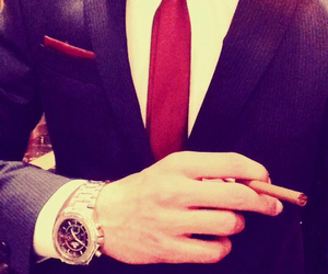 blue, luxurious, and watch image