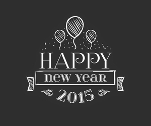 enjoy, lovely, and happy new year image