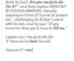 Legolas, otp, and ship image