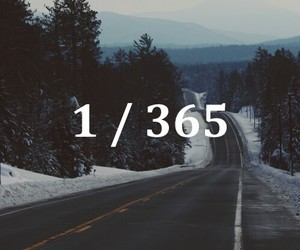 life, new year, and 365 days image