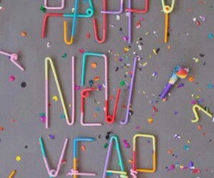 happy new year, party, and 2014 image