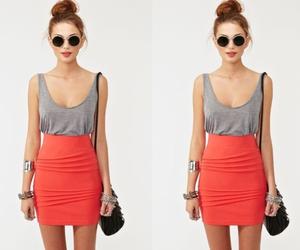 fashion, skirt, and girl image