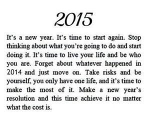 2014, new year, and quote image