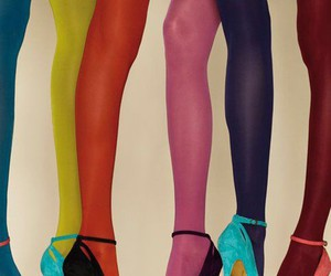 legs, colors, and shoes image