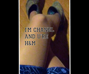 H&M, true, and chamel image