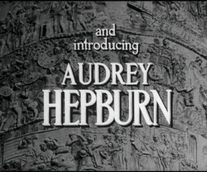 audrey hepburn, films, and roman holiday image